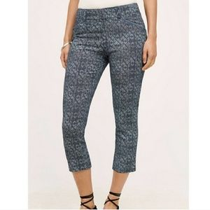 Anthropologie Cartonnier Printed Charlie Trousers